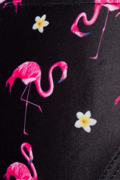 Badehöschen ⛱ Flamingo Motiv zum Binden von Belsira