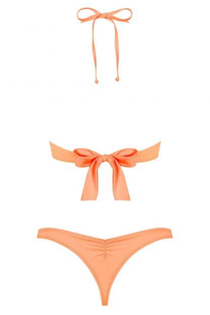 """Bikini-Set """"Paralia"""" coral von Obsessive"""