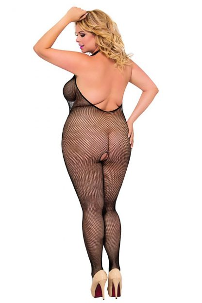 "Bodystocking ""Ligia"" schwarz von Softline Plus Size"
