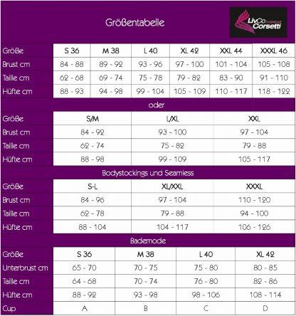 Bodystocking Padma LC 17225 S/L LivCo Corsetti