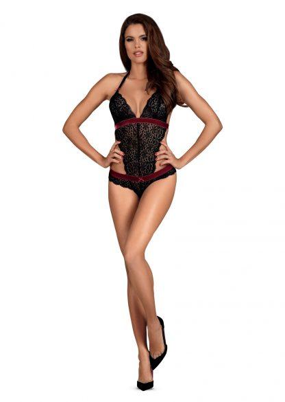"""Obsessive Body """"Rossita"""" schwarz burgund"""