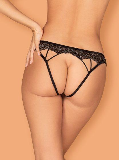"Panty ouvert ""Meshlove"" schwarz von Obsessive"