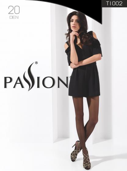 Strumpfhose TI002 schwarz 20 DEN von Passion