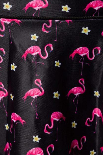 Vintage Bikini-Röckchen ⛱ Flamingo Motiv von Belsira