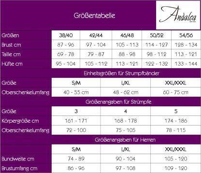 """Wetlook-Chemise """"Z/5025"""" schwarz von Andalea"""