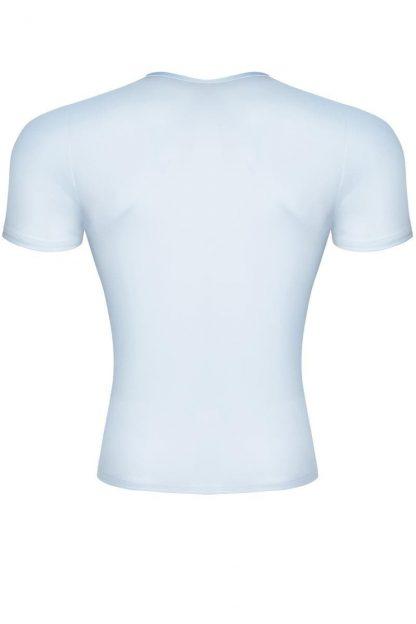 Wetlook T-Shirt weiß von Regnes Fetish Planet - TSH002